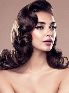 retro hairstyle for long hair 2020 popular long vintage hairstyles