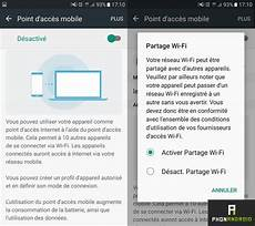 Les Galaxy S7 S7 Edge Peuvent Partager Leur Connexion