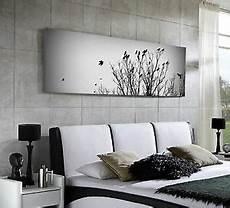 Bild Schwarz Weiß Leinwand - panorama leinwand 155x50 natur bild baum v 214 gel schwarz