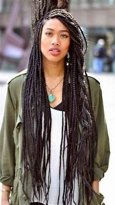 41 best long single braids images on pinterest individual braids single braids and twists
