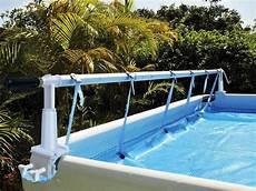 enrouleur bache a bulle piscine hors sol enrouleur de b 226 che pour piscines hors sol acier bois et
