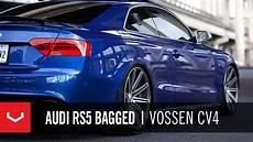 audi rs5 bagged on 20 quot vossen vvs cv4 concave wheels