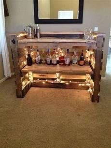 bar aus holzpaletten oak pallet bar by heritage on etsy ideas mini bar etsy bar