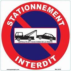Panneau Interdit De Stationner Panneau Interdiction De