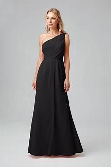 side ruched one shoulder bridesmaid dress pob17003