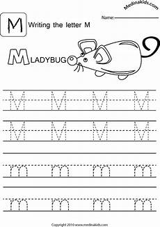 letter m handwriting worksheets 24300 medinakids learn write and lower letters practice letter m