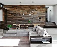 Wohnzimmer Ideen Holz - modern open floor plan mixing surfaces home living room