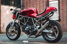 Kaspeed Custom Motorcycles Goes Caf 233 Racer With A Ducati