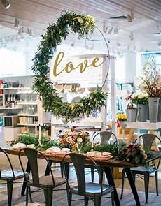 diy hula hoop wreaths for wedding wedding diy decor