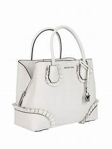 michael kors mercer gallery small white bag totes bags