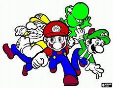 Malvorlagen Mario Und Yoshi Ausmalbilder Mario Yoshi L Mario Yoshi L Zum Ausdrucken