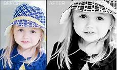 a quick and fabulous color to black and white photoshop