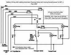 fishfinder wiring need some help gps fish finder cutting when engine is started