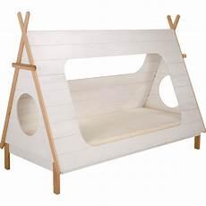 lit 1 place blanc en pin massif avec sommier 90x200 cm