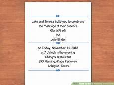 How To Write Wedding Invitations