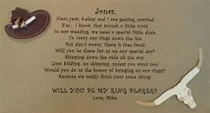ring bearer poem i wrote horseshoe wedding pinterest