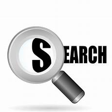 search clipart clip of a search icon always be