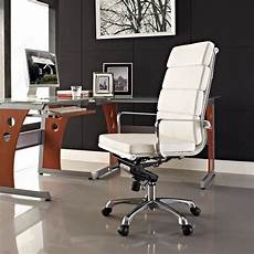 ergonomic home office furniture 20 elegant and sleek white office chairs for modern offices