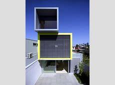 Modern cube house on several levels   Interior Design