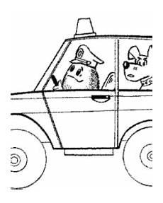 malvorlagen polizeiauto kostenlos zum ausdrucken