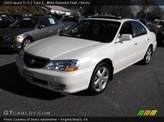 white diamond pearl 2003 acura tl 3 2 type s