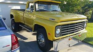 1967 Ford F 600 Custom Truck 330ci 4 Speed Trannydual