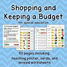 money worksheets for learning disabilities 2219 budget worksheets do you enough money skill math for special ed skills