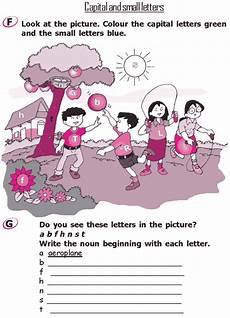 worksheets on picture composition for grade 4 22896 grade 2 grammar lesson 1 the alphabet capital and small letters grammar lessons 2nd grade