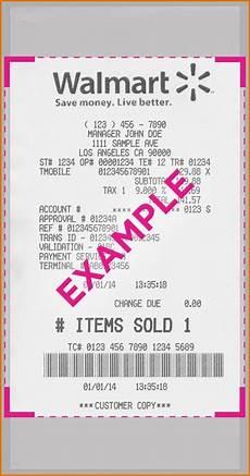 walmart receipt template walmart receipts nutemplates