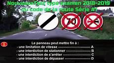 Nouveauxtest Type Examen 2018 2019 Du Code De La Route