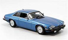 Jaguar Xjs 1980 Coupe Blue Minichs Diecast Model Car 1