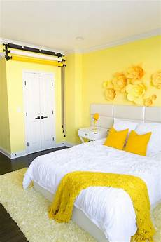 Yellow Walls Bedroom Decorating Ideas by Adelaine Morin S Hello Yellow Bedroom Makeover In 2019