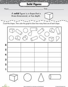 solid shapes worksheets for grade 1 1267 shape dimensions solid figures shapes worksheets teaching math math classroom