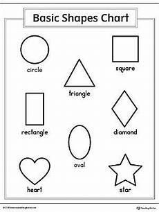 different shapes worksheets 1086 basic geometric shapes printable chart shapes worksheets shape chart printable shapes
