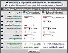 Autokredit Ballonfinanzierung Auto Wann Sinnvoll Rechner