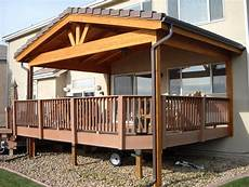 roof to deck decoration roof over deck design home design ideas