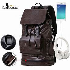 aliexpress com buy anti theft usb pu gym backpack for fitness men training bag with