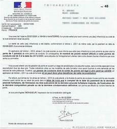 annulation permis de conduire forum lettres 48 48n 48m 48si 46 46d 46b 47