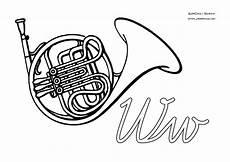 malvorlagen instrumente zum ausdrucken abc ausmalbilder instrumente mit anfangsbuchstaben