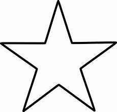 Vorlagen Sterne - large pattern five pointed represents the five