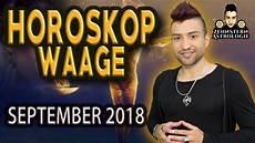 Waage Horoskop September 2018