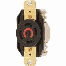 Hubbell Insulgrip Twist Lock Generator Receptacle 3 Pole