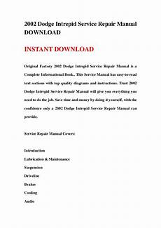 free car repair manuals 2002 dodge intrepid navigation system 2002 dodge intrepid service repair manual download