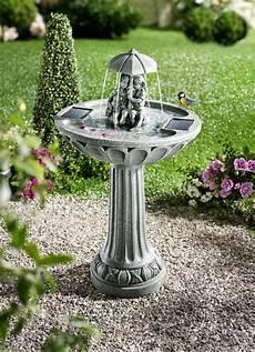 solar springbrunnen leuchtende dekoration brigitte