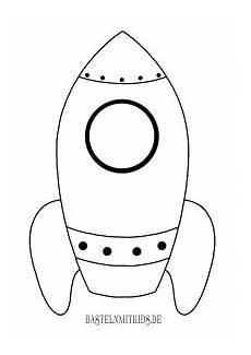 Malvorlagen Rakete Weltraum Quest Ausmalbilder Kinder Rakete