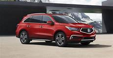 2018 acura mdx offers better infotainment flashier colors