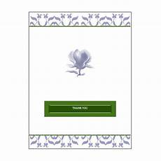 thank you card templates publisher free downloads simple template for a greeting card in