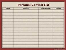 list templates free word templates part 2