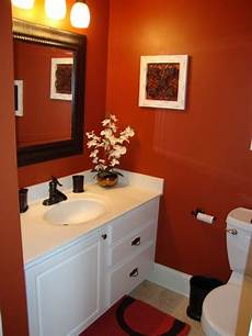 Bathroom Ideas Orange by Paint Color Paprika By Valspar Bathrooms Bathroom