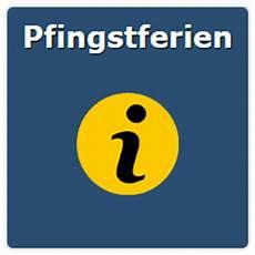 Termine Pfingstferien Bayern Baden W 252 Rttemberg
